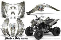 Yamaha-Raptor-350-CreatorX-Graphics-Kit-Skulls-Bolts-Metal-Yellow-White