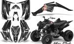 Yamaha Raptor 350 CreatorX Graphics Kit You Rock Black 150x90 - Yamaha Raptor 350 Graphics