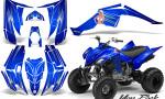 Yamaha Raptor 350 CreatorX Graphics Kit You Rock Blue 150x90 - Yamaha Raptor 350 Graphics