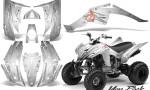 Yamaha Raptor 350 CreatorX Graphics Kit You Rock White 150x90 - Yamaha Raptor 350 Graphics
