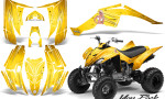 Yamaha Raptor 350 CreatorX Graphics Kit You Rock Yellow 150x90 - Yamaha Raptor 350 Graphics
