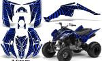 Yamaha Raptor 350 CreatorX Graphics Kit ZCamo Blue 150x90 - Yamaha Raptor 350 Graphics