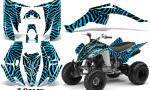 Yamaha Raptor 350 CreatorX Graphics Kit ZCamo BlueIce 150x90 - Yamaha Raptor 350 Graphics