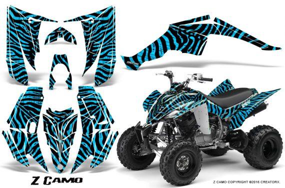 Yamaha Raptor 350 CreatorX Graphics Kit ZCamo BlueIce 570x376 - Yamaha Raptor 350 Graphics