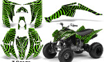 Yamaha Raptor 350 CreatorX Graphics Kit ZCamo Green 150x90 - Yamaha Raptor 350 Graphics