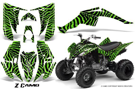 Yamaha Raptor 350 CreatorX Graphics Kit ZCamo Green 570x376 - Yamaha Raptor 350 Graphics
