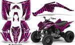 Yamaha Raptor 350 CreatorX Graphics Kit ZCamo Pink 150x90 - Yamaha Raptor 350 Graphics