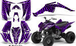 Yamaha Raptor 350 CreatorX Graphics Kit ZCamo Purple 150x90 - Yamaha Raptor 350 Graphics