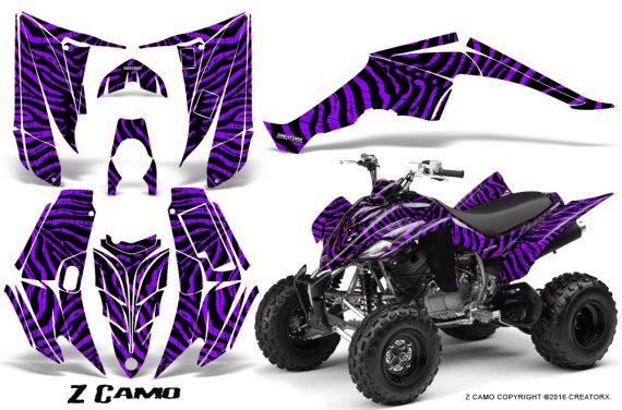 Yamaha Raptor 350 CreatorX Graphics Kit ZCamo Purple 570x376 - Yamaha Raptor 350 Graphics