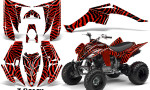 Yamaha Raptor 350 CreatorX Graphics Kit ZCamo Red 150x90 - Yamaha Raptor 350 Graphics