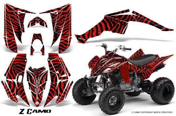 Yamaha Raptor 350 CreatorX Graphics Kit ZCamo Red 570x376 - Yamaha Raptor 350 Graphics