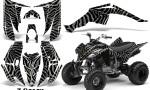 Yamaha Raptor 350 CreatorX Graphics Kit ZCamo Silver 150x90 - Yamaha Raptor 350 Graphics