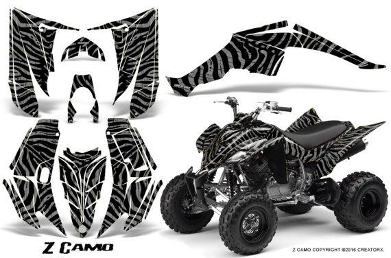 Yamaha Raptor 350 CreatorX Graphics Kit ZCamo Silver 570x376 - Yamaha Raptor 350 Graphics
