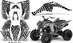 Yamaha Raptor 350 CreatorX Graphics Kit ZCamo White 150x90 - Yamaha Raptor 350 Graphics