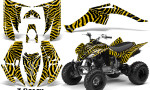 Yamaha Raptor 350 CreatorX Graphics Kit ZCamo Yellow 150x90 - Yamaha Raptor 350 Graphics