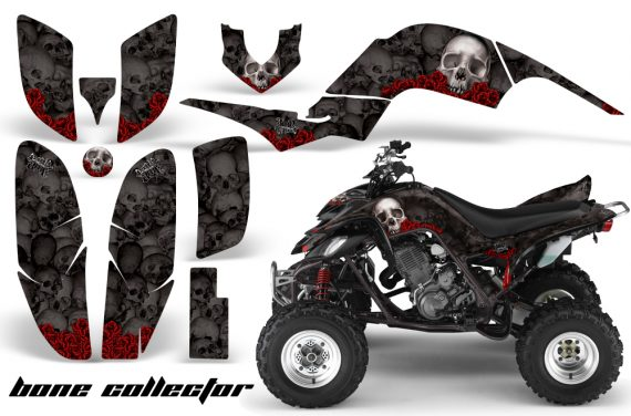 Yamaha Raptor 660 AMR Graphics BoneCollector Black 570x376 - Yamaha Raptor 660 Graphics
