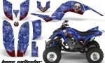 Yamaha Raptor 660 AMR Graphics BoneCollector Blue 150x90 - Yamaha Raptor 660 Graphics
