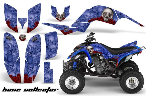 Yamaha Raptor 660 AMR Graphics BoneCollector Blue 570x376 - Yamaha Raptor 660 Graphics