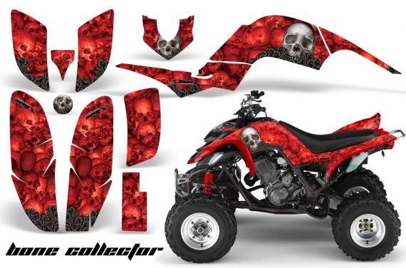 Yamaha Raptor 660 AMR Graphics BoneCollector Red 570x376 - Yamaha Raptor 660 Graphics
