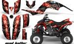Yamaha Raptor 660 AMR Graphics MadHatter Black Redstripe 150x90 - Yamaha Raptor 660 Graphics