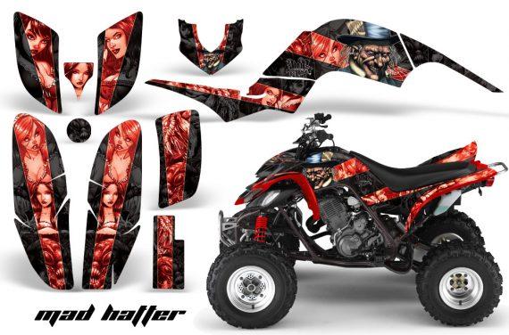 Yamaha Raptor 660 AMR Graphics MadHatter Black Redstripe 570x376 - Yamaha Raptor 660 Graphics