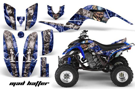 Yamaha Raptor 660 AMR Graphics MadHatter Blue Silverstripe 570x376 - Yamaha Raptor 660 Graphics