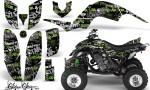 Yamaha Raptor 660 AMR Graphics Silverhaze Green BlackBG 150x90 - Yamaha Raptor 660 Graphics