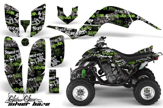 Yamaha Raptor 660 AMR Graphics Silverhaze Green BlackBG 570x376 - Yamaha Raptor 660 Graphics