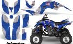 Yamaha Raptor 660 AMR Graphics T Bomber Blue 150x90 - Yamaha Raptor 660 Graphics