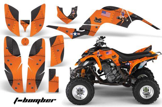 Yamaha Raptor 660 AMR Graphics T Bomber Orange 570x376 - Yamaha Raptor 660 Graphics