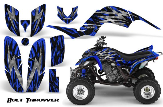 Yamaha Raptor 660 CreatorX Graphics Kit Bolt Thrower Blue 570x376 - Yamaha Raptor 660 Graphics