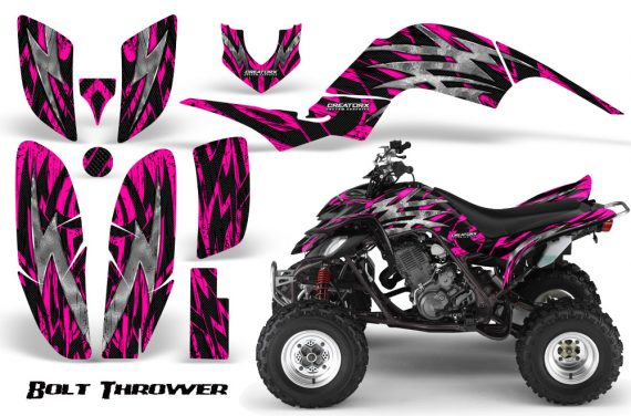 Yamaha Raptor 660 CreatorX Graphics Kit Bolt Thrower Pink 570x376 - Yamaha Raptor 660 Graphics