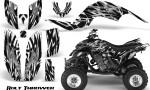 Yamaha Raptor 660 CreatorX Graphics Kit Bolt Thrower White 150x90 - Yamaha Raptor 660 Graphics