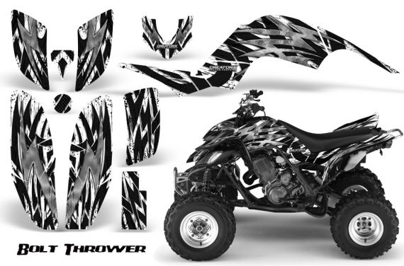 Yamaha Raptor 660 CreatorX Graphics Kit Bolt Thrower White 570x376 - Yamaha Raptor 660 Graphics