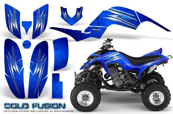 Yamaha Raptor 660 CreatorX Graphics Kit Cold Fusion Blue 570x376 - Yamaha Raptor 660 Graphics