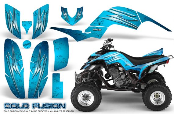 Yamaha Raptor 660 CreatorX Graphics Kit Cold Fusion BlueIce 570x376 - Yamaha Raptor 660 Graphics