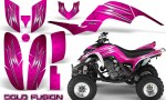 Yamaha Raptor 660 CreatorX Graphics Kit Cold Fusion Pink 150x90 - Yamaha Raptor 660 Graphics
