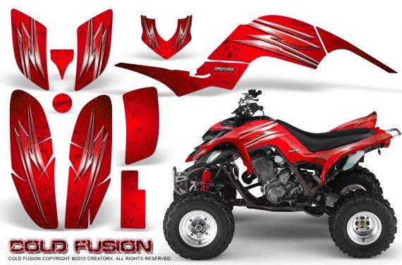 Yamaha Raptor 660 CreatorX Graphics Kit Cold Fusion Red 570x376 - Yamaha Raptor 660 Graphics