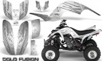 Yamaha Raptor 660 CreatorX Graphics Kit Cold Fusion White 150x90 - Yamaha Raptor 660 Graphics