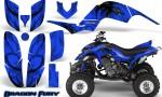 Yamaha Raptor 660 CreatorX Graphics Kit Dragon Fury Blue Blue 150x90 - Yamaha Raptor 660 Graphics