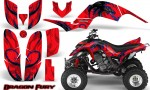 Yamaha Raptor 660 CreatorX Graphics Kit Dragon Fury Blue Red 150x90 - Yamaha Raptor 660 Graphics