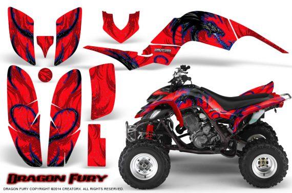 Yamaha Raptor 660 CreatorX Graphics Kit Dragon Fury Blue Red 570x376 - Yamaha Raptor 660 Graphics
