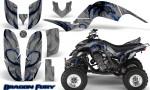 Yamaha Raptor 660 CreatorX Graphics Kit Dragon Fury Blue Silver 150x90 - Yamaha Raptor 660 Graphics