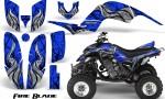 Yamaha Raptor 660 CreatorX Graphics Kit Fire Blade Blue BB 150x90 - Yamaha Raptor 660 Graphics