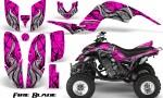 Yamaha Raptor 660 CreatorX Graphics Kit Fire Blade Pink 150x90 - Yamaha Raptor 660 Graphics