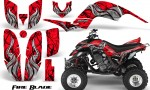 Yamaha Raptor 660 CreatorX Graphics Kit Fire Blade Red BB 150x90 - Yamaha Raptor 660 Graphics
