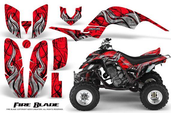 Yamaha Raptor 660 CreatorX Graphics Kit Fire Blade Red BB 570x376 - Yamaha Raptor 660 Graphics