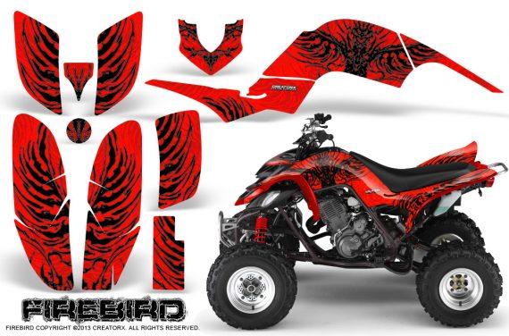 Yamaha Raptor 660 CreatorX Graphics Kit Firebird Black Red 570x376 - Yamaha Raptor 660 Graphics