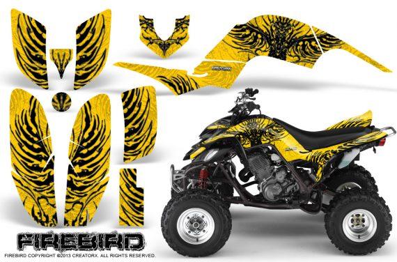 Yamaha Raptor 660 CreatorX Graphics Kit Firebird Black Yellow 570x376 - Yamaha Raptor 660 Graphics