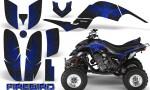 Yamaha Raptor 660 CreatorX Graphics Kit Firebird Blue Black 150x90 - Yamaha Raptor 660 Graphics
